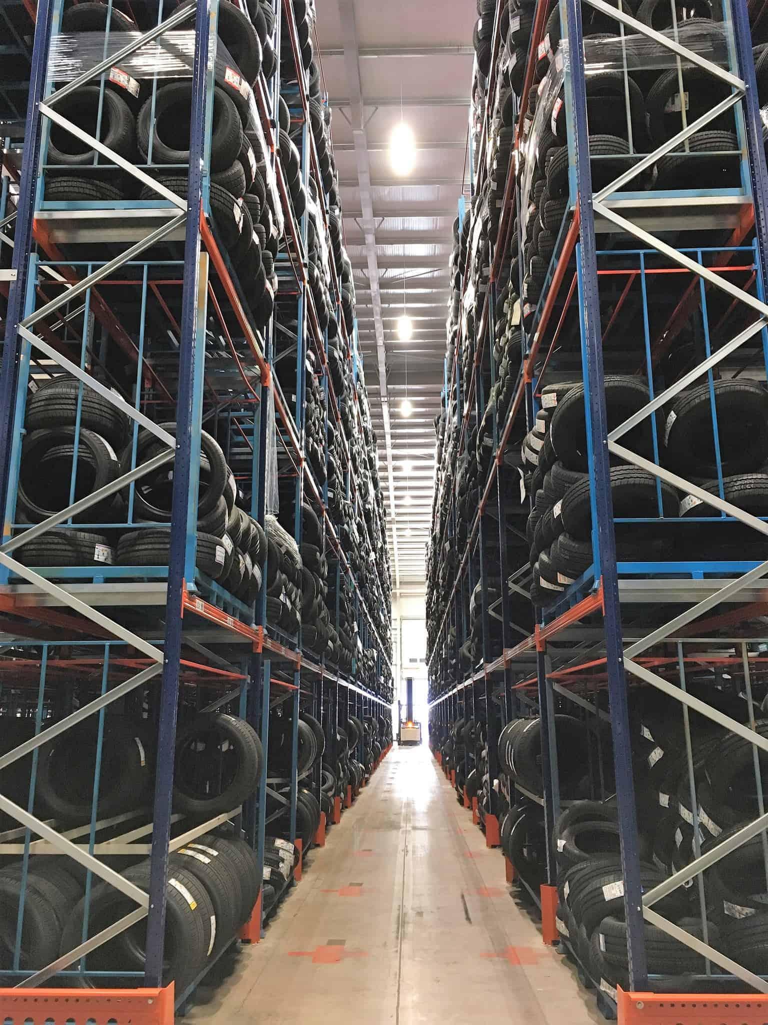 Tyre Depot Aisle