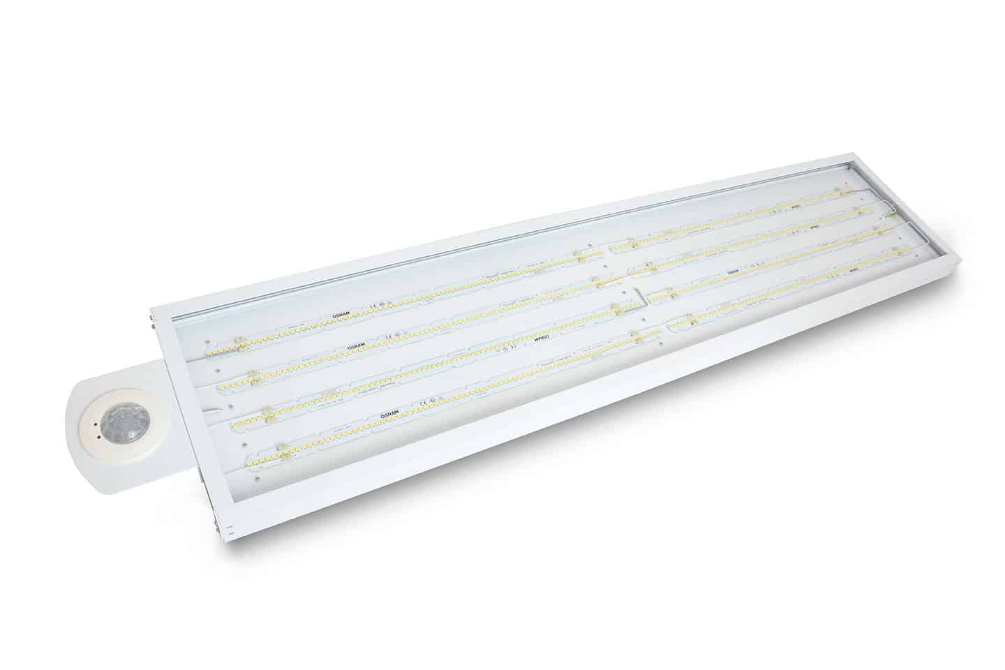 Pegasus LED High Bay gives high efficacy and up to 80% energy saving