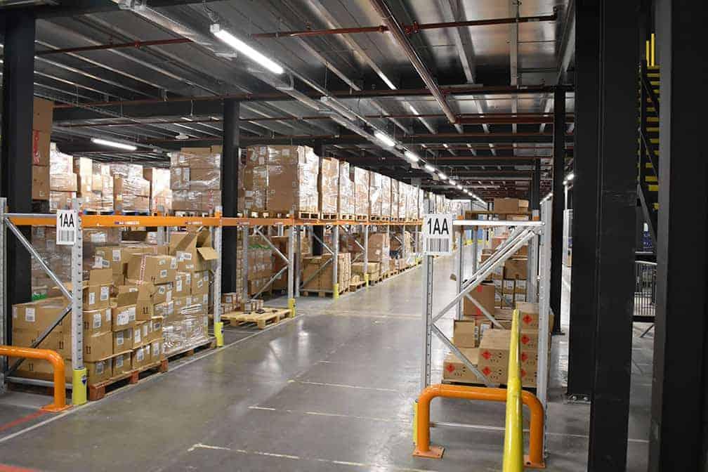 distribution centre lighting